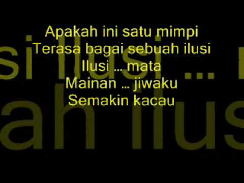 pesawat_mirage (lyrics on screen)
