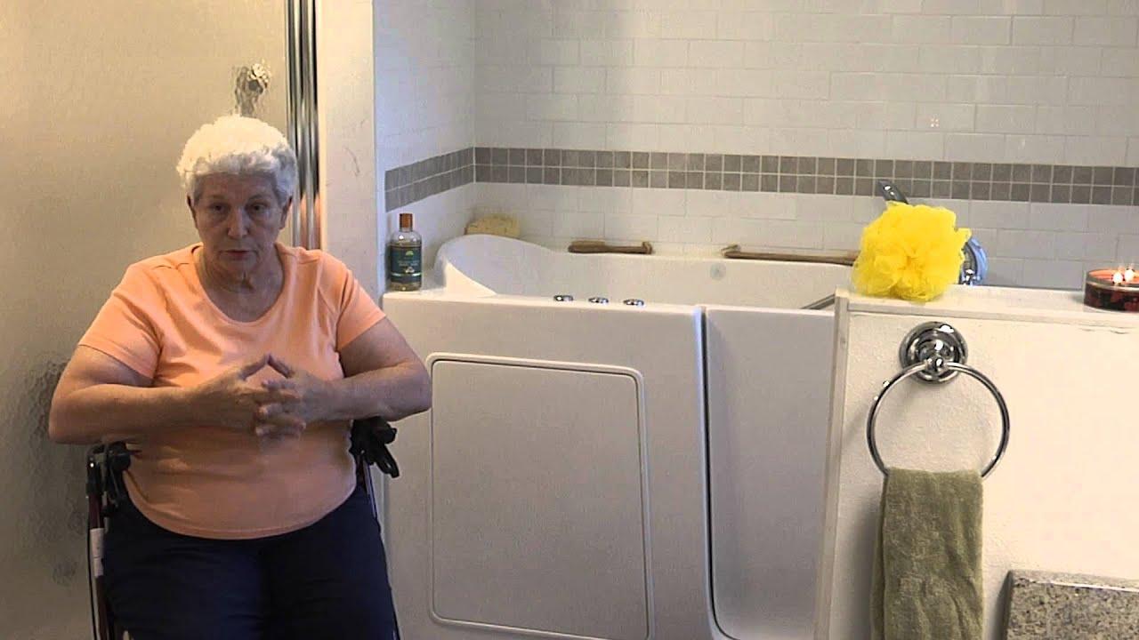 Tub King Walk In Tubs. Customer Testimonial for Tub King Walk in Tubs  Marion YouTube