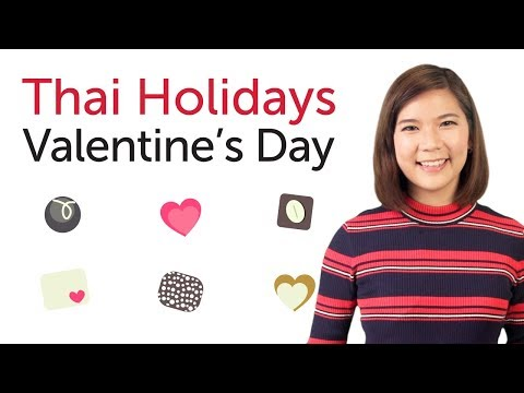 Learn Thai Holidays - Valentine's Day