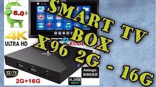 Android 6.0 Smart TV Box распаковка и тест двух приставок X96(Android 6.0 Smart TV Box распаковка и тест двух приставок X96 Покупал здесь: http://got.by/2bwqf ○ Cashback на Aliexpress все на 7% дешевле..., 2017-01-28T11:57:09.000Z)