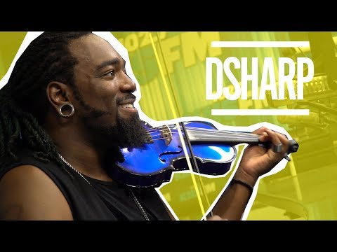 JoJo Wright - Violinist DSharp Joins JoJo In Studio & Performs Wango Tango Mashup