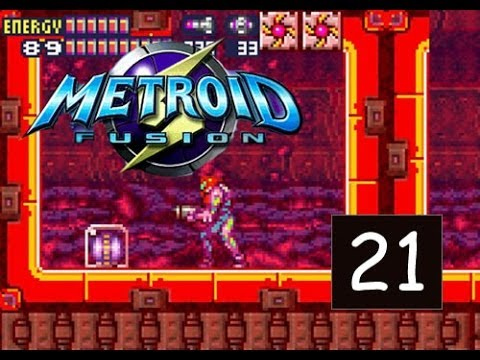 Metroid Fusion - Part 21 - Sector 3 - Power up Locations 100% - (GBA)