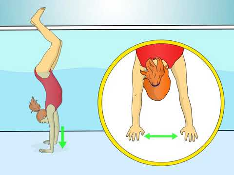 How To Do A Handstand In The Pool