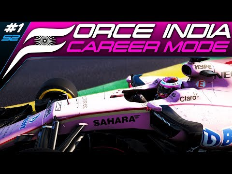 F1 2017 CAREER MODE #21 | SEASON 2 IS HERE! 110% AI! | Australia