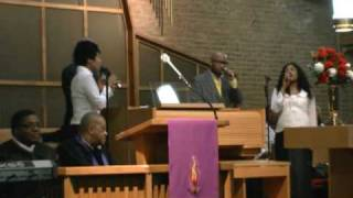 Alt/Rock Singer Cylas Sings and Plays at Church Serivce