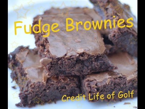 Fudge Brownies ฟัดจ์บราวนี่หน้ากรอบ เนื้อหนึบหนับ