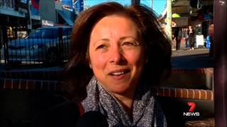 Seven News Sydney - Kogarah commuters angry at new CityRail timetable (17/5/2013)