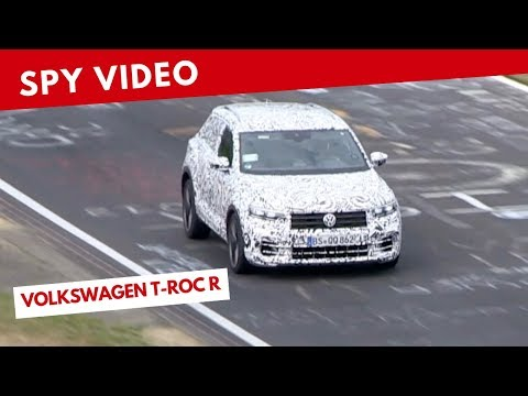 Volkswagen T-Roc R | Spy video (January 2019)