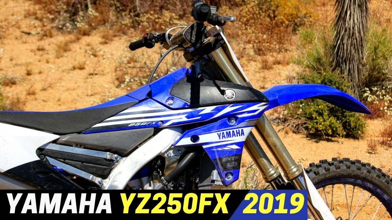 NEW 2019 Yamaha YZ250FX - A Strong Contender In The GNCC Racing Category