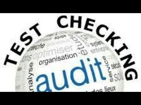 Test Checking Vs Statistical Sampling