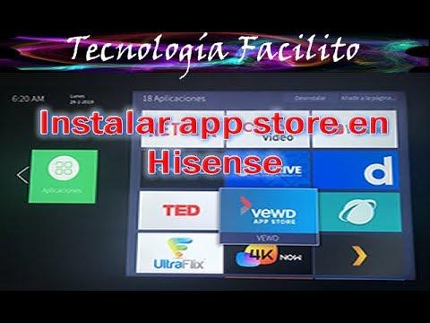 Instalar app store en hisense