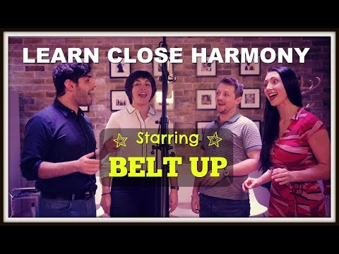 Learn To SING CLOSE HARMONY|Advanced Harmony Training SKY 1 SING ULTIMATE A CAPPELLA