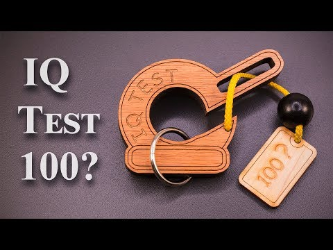 The IQ Test 100 - Can you make it?