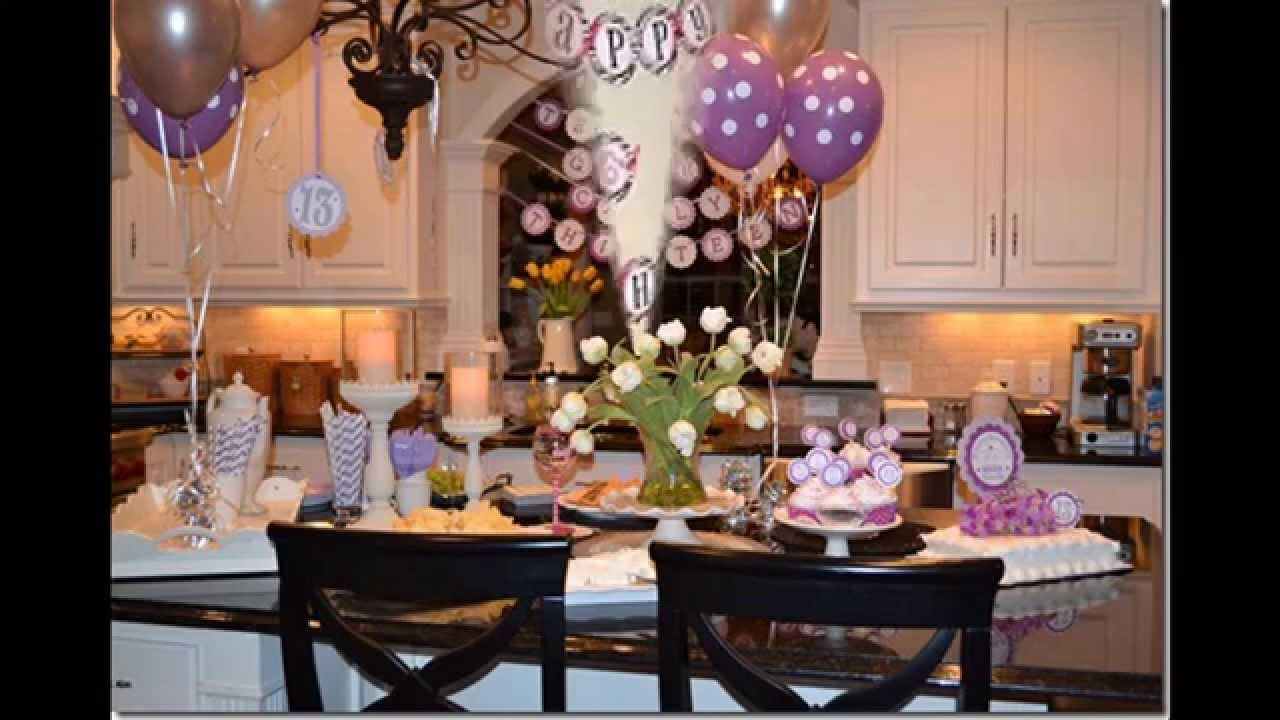 Party themes decorations ideas for teenage girls - Home ...