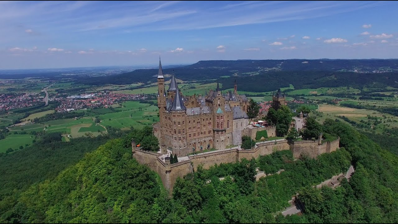 View To Hohenzollern Castle Stock Photos &- View To Hohenzollern ...