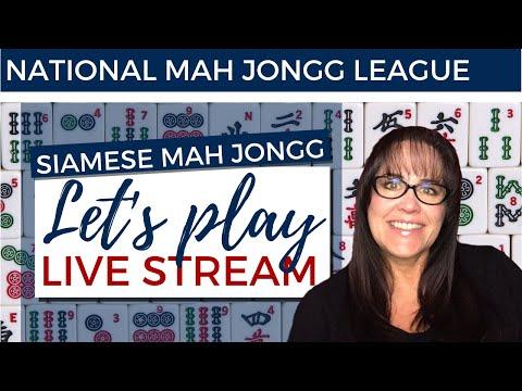 NMJL Siamese Mah Jongg Live Stream 20200119 REPOST