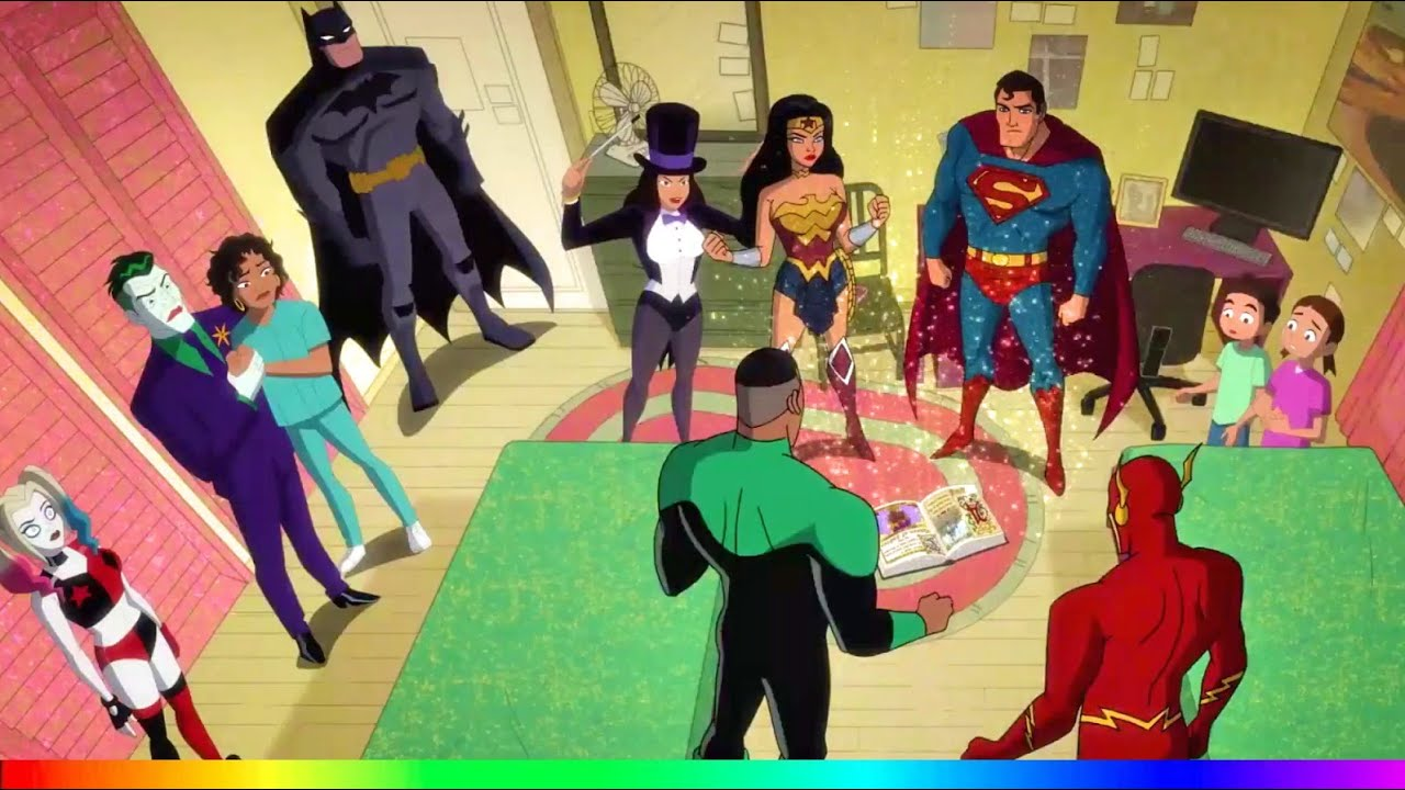 Download Harley Quinn 2x11 - Joker helps bring Justice League back