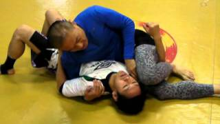 Side Triangle from Kesa-Gatame (2011-11-19)