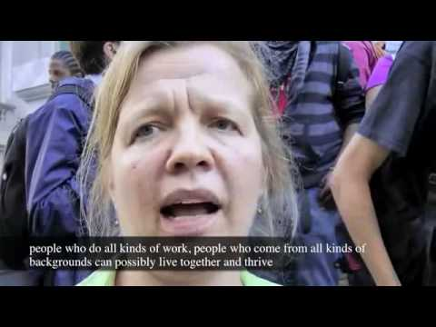 Teachers and Parents at Occupy Wall Street