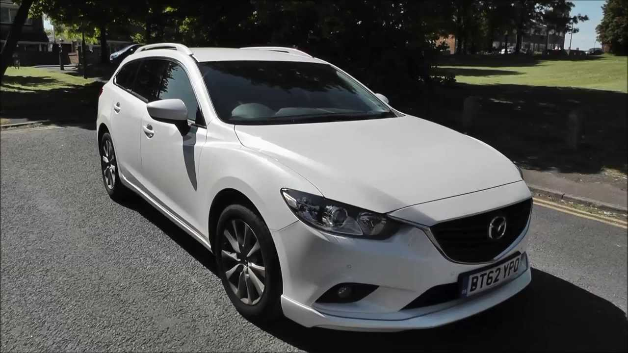 Mazda 6 2 2 D Se L Nav 5 Door Estate Bt62 Ypo Youtube