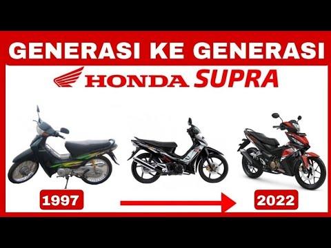 Sejarah Dari Awal Kehadiran Honda SUPRA Sampai SAAT INI