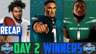 2020 NFL Draft Day 2 Winners & Losers (2020 NFL Draft Recap)