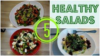 FOOD BOOK | 5 простых и полезных САЛАТОВ / диета после Нового года?