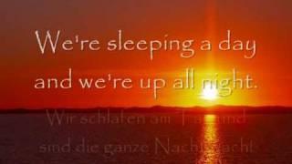 Für immer Wochenende Weekend forever deutsche Übersetzung