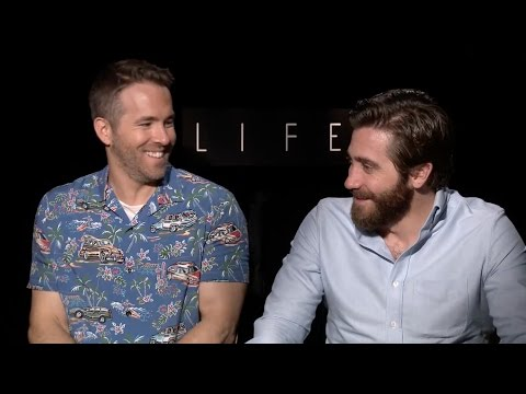 Jake Gyllenhaal and Ryan Reynolds Are Having Way Too Much Fun Together