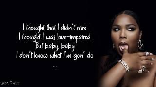 Lizzo - Cuz I Love You Lyrics