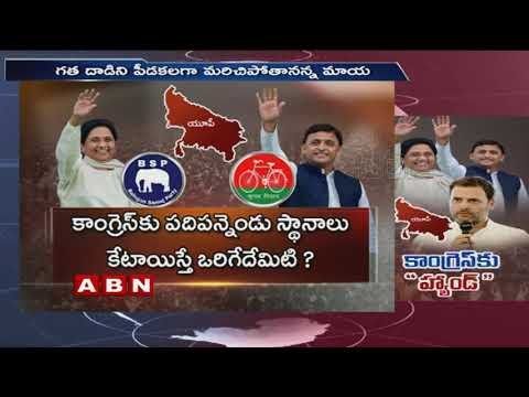 Elections 2019: Why SP, BSP did not include Congress in UP alliance | ABN Telugu