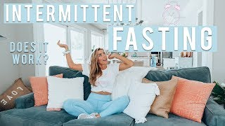 My Secret Intermittent Fasting Routine | Weight Loss, My Guide & Does it Work?