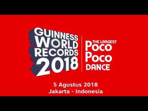 Senam Poco Poco GWR 2018