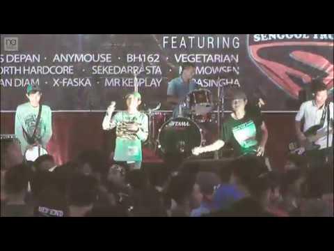 VEGETARIAN - CURVANORD SYNDICATE Anniversario #4 Live In GEDUNG WANITA JEPARA