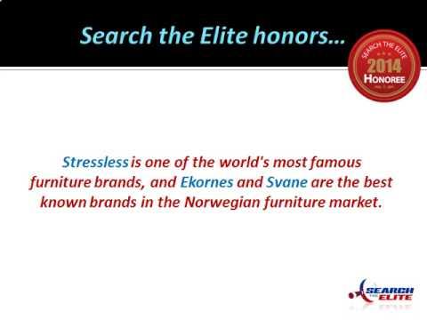 J.E. Ekornes USA, Inc, Ekornes ASA Named The Best Furniture Manufacturer!