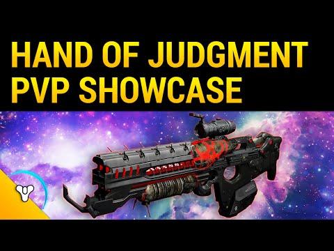 Destiny Taken Spring: Hand of Judgment Legendary Showcase