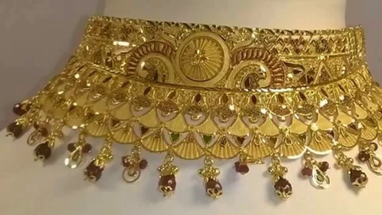 jewellery watch designs gold bridal youtube sets indian