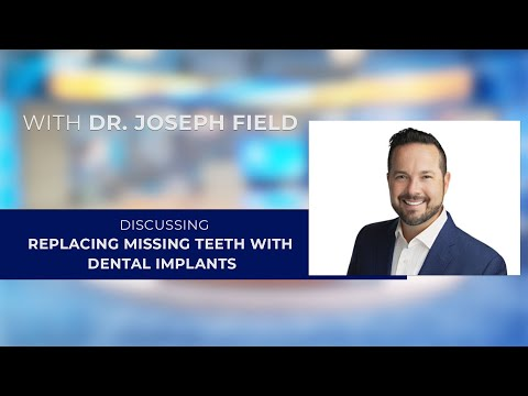 Replacing Missing Teeth with Dental Implants with Los Altos, CA dentist Dr. Joseph Field