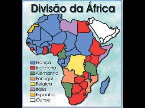 A partilha da áfrica
