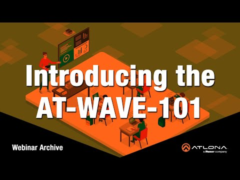Introducing the WAVE   Product Launch Webinar