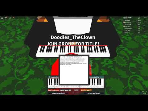 Old Town Road Roblox Piano Youtube