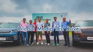 Changan global media test drive