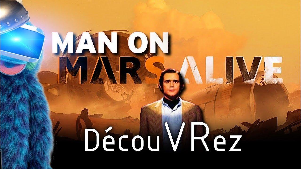 DécouVRez : MARS ALIVE | Qu'est-ce qu'on s'marre sur Mars (PSVR) PS4 Pro | VR Singe