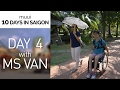 DAY 4 IN SAIGON | Driving with Ms Van
