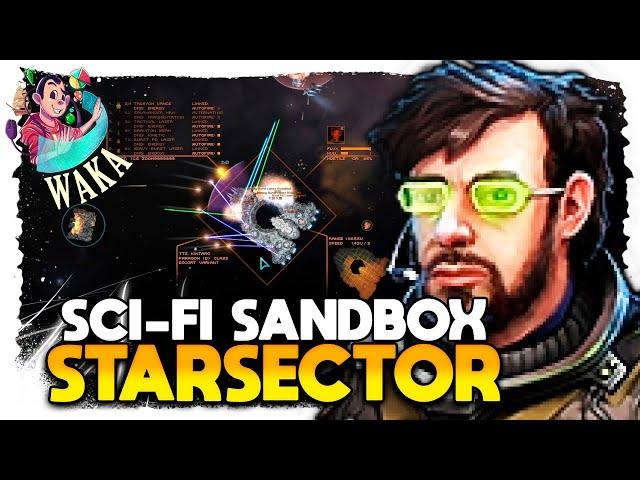 WAKA vs NAVE TANK + ASSASSINA | Starsector #14 - Gameplay PT BR