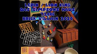 Lego / Lepin / Lion King   Das Simpsons™ Haus   71006    Review by BrickVillain 2020