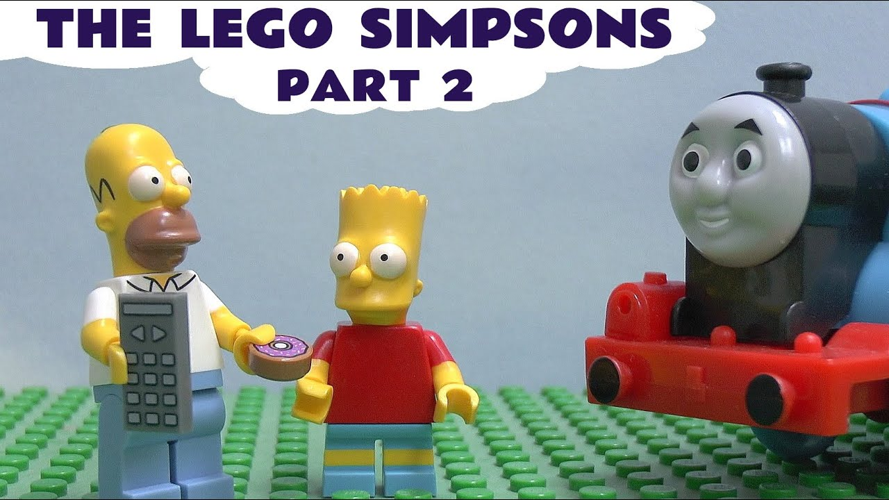 Lego The Simpsons Play Doh Blind Bag Thomas Amp Friends Egg