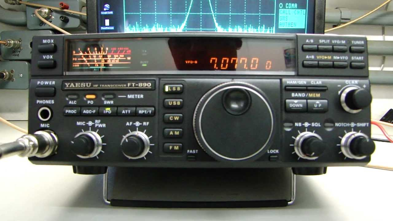 YAESU FT-890AT Great HF All Mode Transceiver - ALPHA