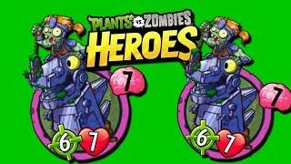 DOBLE ZOMBOT DINOTRONICO - Plants vs Zombies Heroes