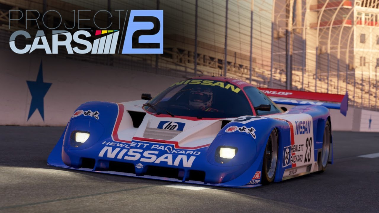 Project cars 2 nissan r89c texas motor speedway wip for Speedway motors used cars